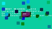 [MOST WISHED]  2018 International Mechanical Code (International Code Council) by International