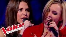 HollySiz – Come Back to Me | Ginie Line VS Sarah Jad | The Voice France 2014 | Battle