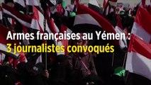 Ventes d'armes au Yémen : trois journalistes visés par une enquête