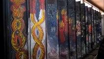 Uckange : une impressionnante fresque découverte dans les vestiaires des hauts-fourneaux