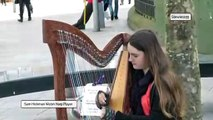 Cardiff Harpist!