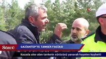 Gaziantep'te tanker faciası