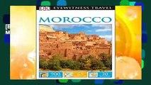 [BEST SELLING]  DK Eyewitness Travel Guide Morocco by Dk Travel