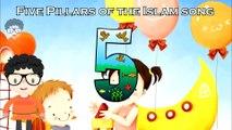 The five pillars of islam song for kids - 5 pillars of islam - islamın şartı beştir şarkısı Çocuklar için