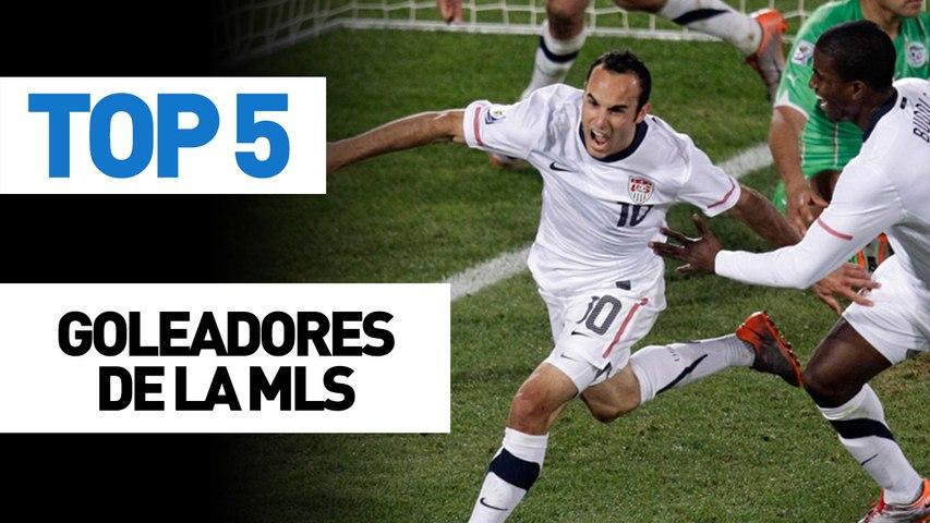 Top 5 Goleadores de la MLS
