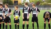 Coupe des Flandres U16. 1/4 de finale.  SCO ROUBAIX - FC LAMBERSART : 1 - 2  (0 - 1)