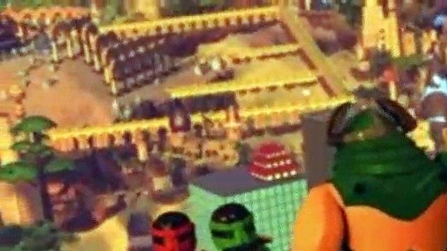 LEGO NinjaGo Masters of Spinjitzu S06E10 The Way Back