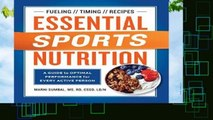 [MOST WISHED]  Essential Sports Nutrition: A Guide to Optimal Performance for Every Active Person