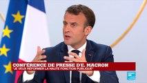 """""""Je ne veux pas de hausse d'impôts, mais des baisses d'impôts"""" : Emmanuel Macron"""