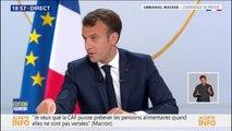 """Emmanuel Macron sur la laïcité: """"La loi de 1905 est notre pilier"""""""