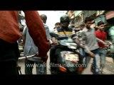 Cycle rickshaw ride through Chandni Chowk