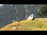 Ideal place for hang-gliding and paragliding - Billing, Himachal