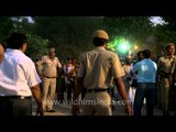 Tight security at Red Fort during Dussehra Festival in Delhi
