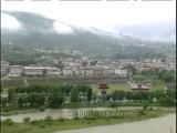 Bhutan's unique architecture in Thimphu