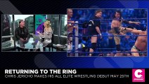 Ex-WWE Star Chris Jericho on Signing Biggest Contract of His Career with All Elite Wrestling
