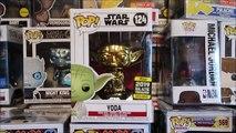 Yoda Chrome Star Wars  Funko Pop Galactic 2019 Celebration Exclusive episode 9