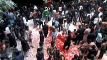 Blood shed on Muharram