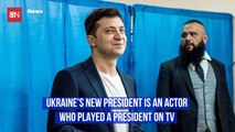 Meet Ukraine's New Unusual President