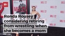 Ronda Rousey Is Heading Towards Wrestling Retirement