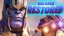 Fortnite Thanos/Chitauri Victory Royale - Avengers Endgame Gameplay