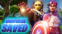 Fortnite: The Avengers Victory Royale - Avengers Endgame Gameplay