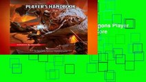 [NEW RELEASES]  Dungeons   Dragons Player s Handbook (Dungeons   Dragons Core Rulebooks) by