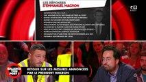 Mesures annoncées par Macron : Mounir Mahjoubi interpellé par des gilets jaunes !