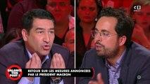 Mesures annoncées par Macron : vif échange entre Mounir Mahjoubi et Karim Zéribi
