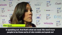 (Subtitled) 'Shine a light on Sterling for speaking up' - Alex Scott