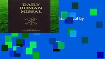[NEW RELEASES]  Daily Roman Missal by Our Sunday Visi