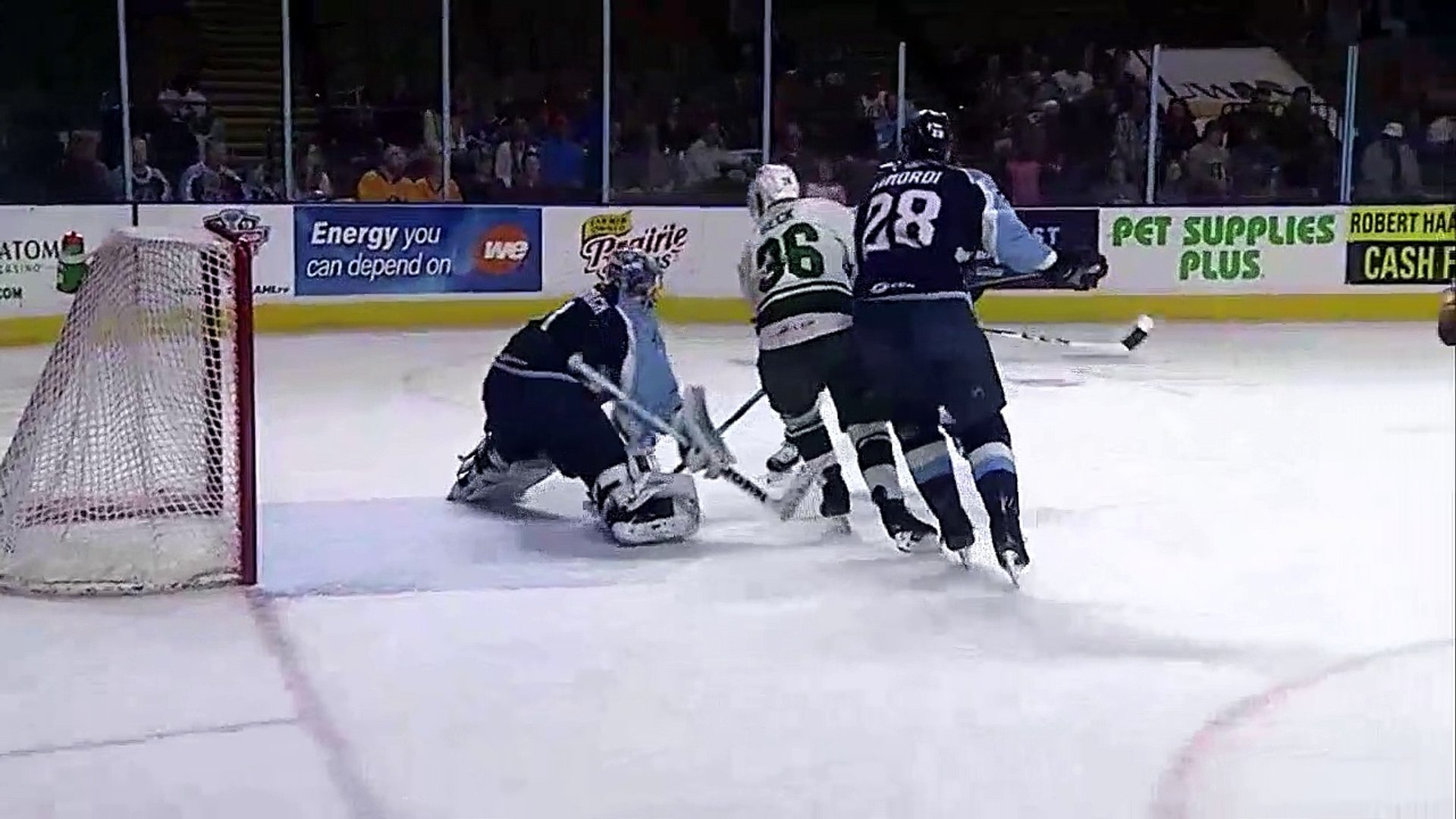 AHL Milwaukee Admirals 3 vs Iowa Wild 1