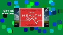 [GIFT IDEAS] The Health Gap: The Challenge of an Unequal World by Sir Michael Marmot