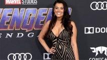 "Anna Colwell ""Avengers Endgame"" World Premiere Purple Carpet"