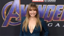 "Elizabeth Olsen ""Avengers Endgame"" World Premiere Purple Carpet"