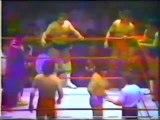 Mitsuharu Misawa/Cachorro Mendoza/Tony Salazar vs Coloso Colosetti/Egipcio/Jerry Estrada (CMLL July 13th, 1984)
