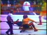 Herodes/Mocho Cota/Sangre Chicana vs Rayo de Jalisco Jr/Mogur/Ringo Mendoza (CMLL 1984)