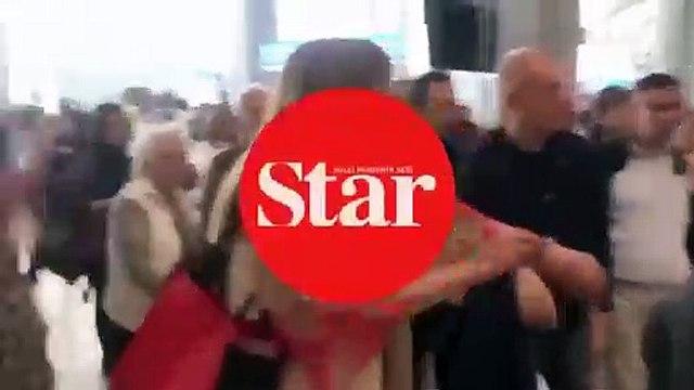 Havalimanında tepki çeken görüntü!; Görevliye hakaretler yağdırdı