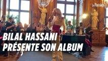 Bilal Hassani présente «Kingdom» à la mairie de Paris