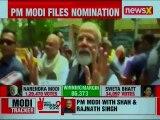PM Narendra Modi speaks to media after filing nomination from Varanasi; Lok Sabha Elections 2019