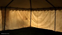 RAIN on a TENT I 9 HOURS I Sound Therapy I Relax Night and Day