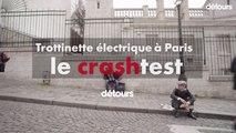 Trottinette électrique à Paris : le crashtest