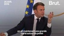 Emmanuel Macron veut remettre des fonctionnaires sur le terrain