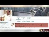 Rajinikanth wishes speedy recovery of CM Jayalalithaa via Twitter