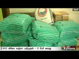 300 kgs of Cannabis worth about Rs. 30 lakhs seized in Theni - Two arrested