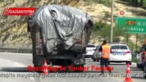 Gaziantep'te tanker faciası, sürücü yanarak öldü
