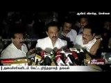 Stalin visits Apollo Hospitals, wishes Jayalalithaa speedy recovery