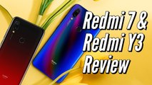 Redmi 7 and Redmi Y3 Review