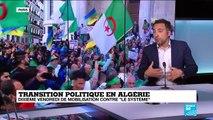"""Transition politique en Algérie : dixième vendredi de mobilisation contre """"le système"""""""