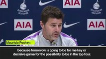(Subtitled) 'West Ham is more important that Ajax' Pochettino