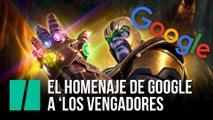 El homenaje de Google a 'Los Vengadores'